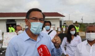 Vizcarra asegura que congresistas desean que inmunidad parlamentaria permanezca