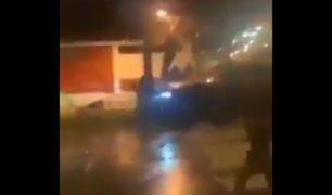 Chile: una violenta pelea termina con un padre y su hijo atropellados en Maipú