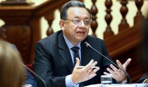 Edgar Alarcón: Fiscal de la Nación presenta dos denuncias constitucionales en su contra