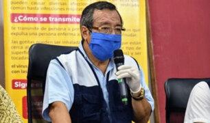 Gobernador regional de Madre de Dios confirma que se contagió de Covid-19