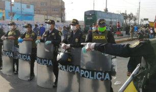 Unos 10,000 policías se reincorporaron a sus labores tras derrotar al coronavirus