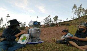 Huancavelica: profesor diseñó robot para educar a sus alumnos