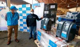 Minsa recibió donación de 40 concentradores de oxígeno por parte de Unicef