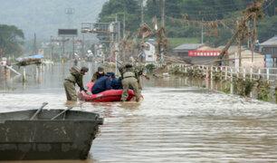 Japón: decenas de fallecidos dejan fuertes lluvias e inundaciones