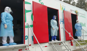La Molina: presentan hospital móvil itinerante para pacientes covid-19