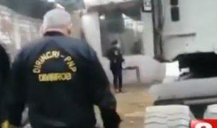 Carabayllo: Policía captura banda que se dedicaba a robar y desmantelar camiones