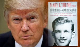Sobrina de Donald Trump rompe su silencio en un polémico libro