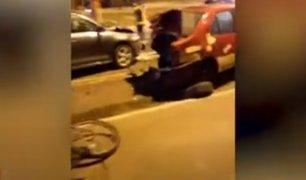 Ciclista atropellada por conductor ebrio pide que cubra gastos de rehabilitación