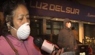 """Santa Anita: se registran colas en """"Luz del Sur"""" desde la madrugada"""