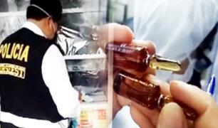 Cercado de Lima: boticas vendían medicinas adulteradas y vencidas