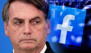 Facebook suspende dos cuentas asociadas a Jair Bolsonaro
