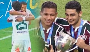 Brasil: Fluminense se corona campeón con gol de Fernando Pacheco