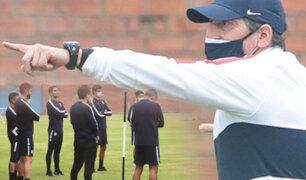 Alianza Lima: Mario Salas dirigió su primer entrenamiento