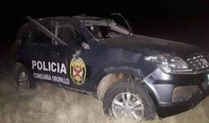 Puno: accidente vehicular dejó como saldo un policía muerto