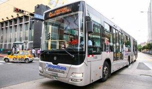 Muñoz: Ejecutivo alista decreto de urgencia para subsidio al Metropolitano