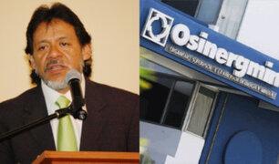 Gutiérrez: Osinergmin y BCR deben pronunciarse sobre la formación de precios del GLP