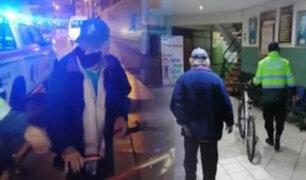 San Isidro: adulto mayor fue intervenido por robar una bicicleta