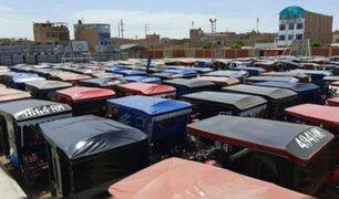 VMT: sujetos atacaron depósito municipal de mototaxis