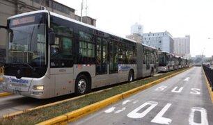 Metropolitano: Gobierno subsidiará pasajes para evitar interrupción del servicio