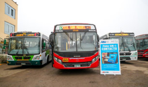 Destinan 78 millones de soles para subsidio a empresas de transporte