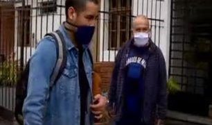 Miraflores: familiares de Luis Repetto desalojan a su compañero del domicilio donde vivían