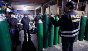 El Agustino: clausuran local que vendía oxígeno medicinal sin licencia