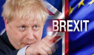 Reino Unido: Boris Johnson relanza preparativos para el Brexit