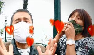 """El amor después de la cuarentena: La """"Bibi y Jhony""""  y sus tips de bioseguridad"""