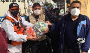 Pachacámac: entregan kits de alimentos a más de 2 mil 500 familias vulnerables