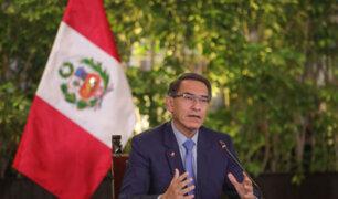 """Martín Vizcarra: """"buscamos que segundo bono llegue más rápido a la gente"""""""