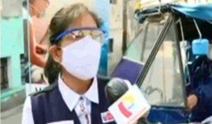 El Agustino: 'Vacunamóvil', lleva salud a las zonas más alejadas