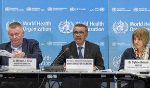 """OMS: pandemia de Covid-19 puede """"ir a peor"""" por acciones equivocadas de los gobiernos"""