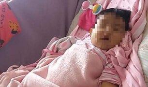 Madre pide al Ministro de Salud no dejar morir a su bebé de cinco meses