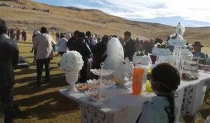 Sin medidas sanitarias: cientos de invitados asistieron a boda en Apurímac