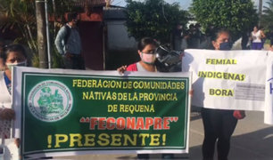 Iquitos: nativos protestan exigiendo atención a pacientes con Covid-19