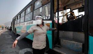 Desde HOY 27 de julio: protector facial es obligatorio para usar transporte público
