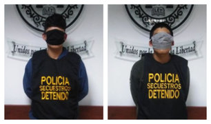 Puente Piedra: adolescentes de 15 años asaltaban con armas agentes bancarios