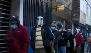 Ya se extiende uso de protector facial en Metropolitano y Metro de Lima
