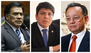 Fiscal de la Nación denuncia a Velásquez Quesquén, Marvin Palma y Edgar Alarcón