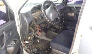 SMP: intervienen cochera donde se desmantelaban autos robados