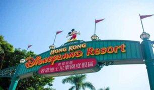Hong Kong: vuelve a cerrar parque temático de Disney por rebrote de la COVID-19
