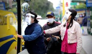 Inició marcha blanca de uso de protectores faciales en transporte público