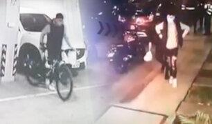 Pueblo Libre: ladrón fue sorprendido cuanto intentaba robar bicicleta en edificio