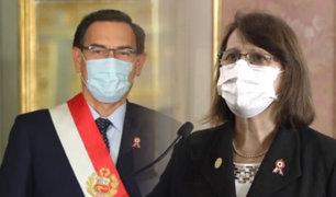 Pilar Mazzetti juró como ministra de Salud