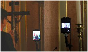 ¡Histórico! Patricia Donayre y Rocío Barrios juran de manera virtual