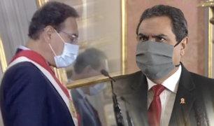 Jorge Montoya juramentó como el nuevo ministro del Interior