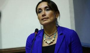 """Patricia Donayre tras jurar al Midis: """"Asumo para mejorar condiciones de los más vulnerables"""""""
