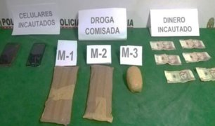 Huánuco: detienen a sujetos que transportaban 7 paquetes con droga