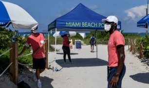 EE.UU: Florida traspasó la barrera de los 300 mil contagios por la COVID-19