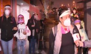 Aeropuerto Jorge Chávez: pasajeros empezaron a llegar desde la medianoche